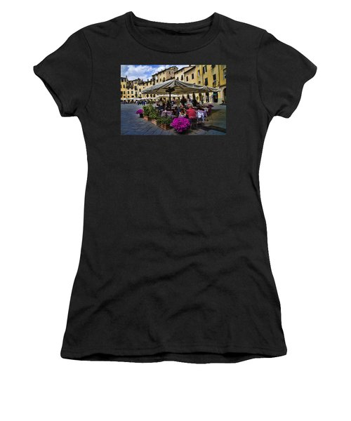 Square Amphitheater In Lucca Italy Women's T-Shirt (Athletic Fit)