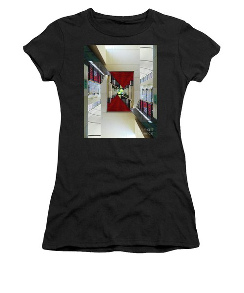 Squares Women's T-Shirt (Athletic Fit)