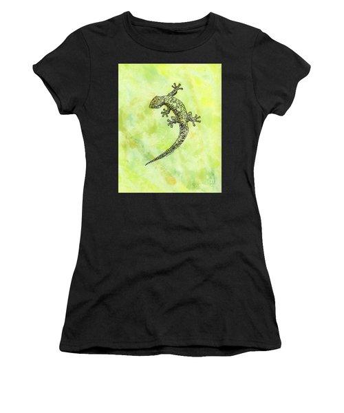 Squiggle Gecko Women's T-Shirt