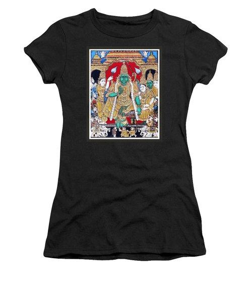 Sri Ramar Pattabhishekam Women's T-Shirt (Athletic Fit)