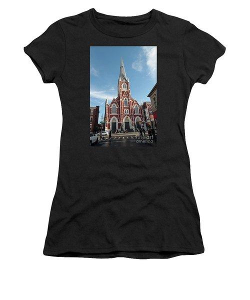 St Anthony Of Padua Church Women's T-Shirt