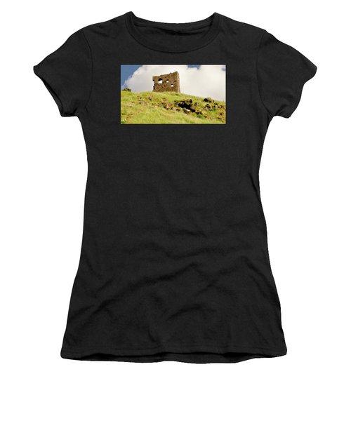 St. Anthony's Chapel Ruins. Women's T-Shirt