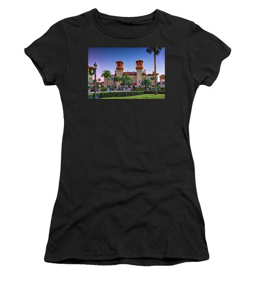 St. Augustine, Fl - Lightner Lights Women's T-Shirt (Athletic Fit)