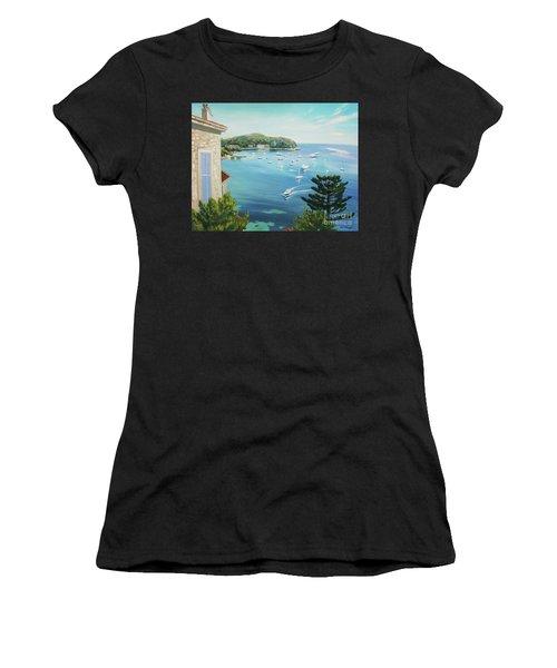 St Jean Cap Ferrat 2 Women's T-Shirt (Athletic Fit)