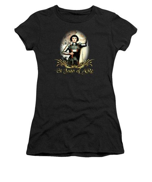 St Joan Of Arc - Jeanne D'arca Women's T-Shirt