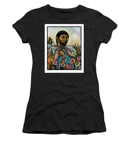 St. Juan Diego And The Virgins Image - Jljdv Women's T-Shirt
