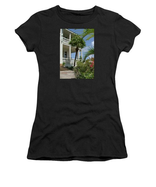 St Lucia Overlook Women's T-Shirt (Athletic Fit)