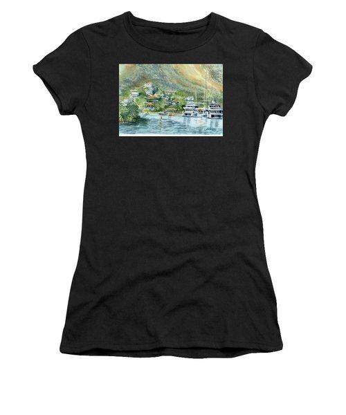St. Maarten Cove Women's T-Shirt (Athletic Fit)