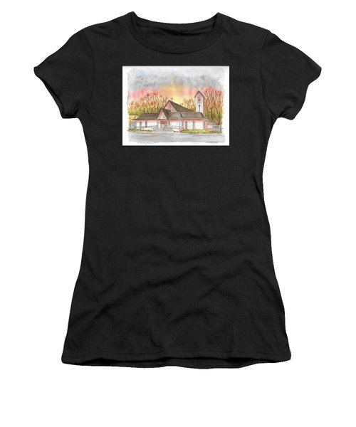 St. Malachy Church, Tehachapi, California Women's T-Shirt (Athletic Fit)