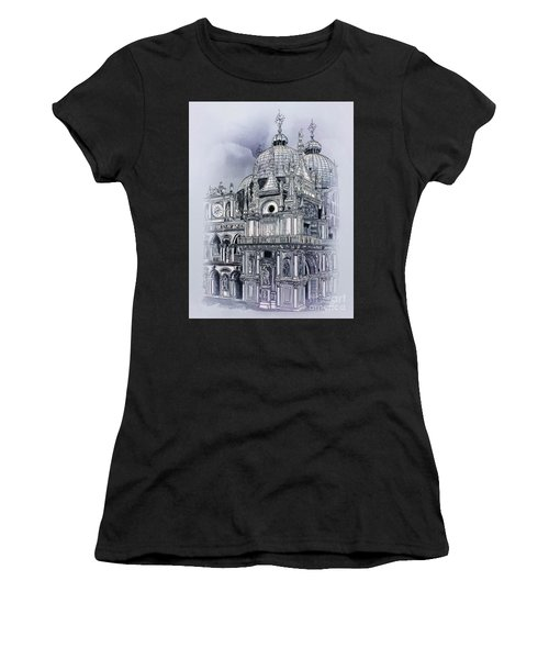 St Mark's Basilica. Women's T-Shirt