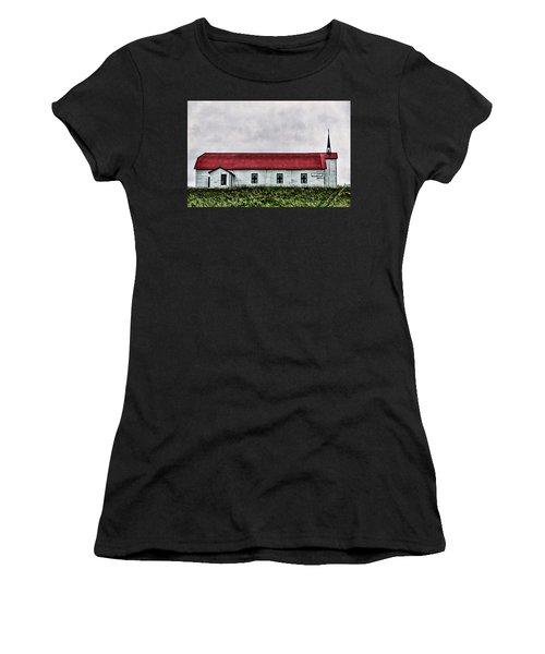 St. Mary Church, Babb, Mt Women's T-Shirt