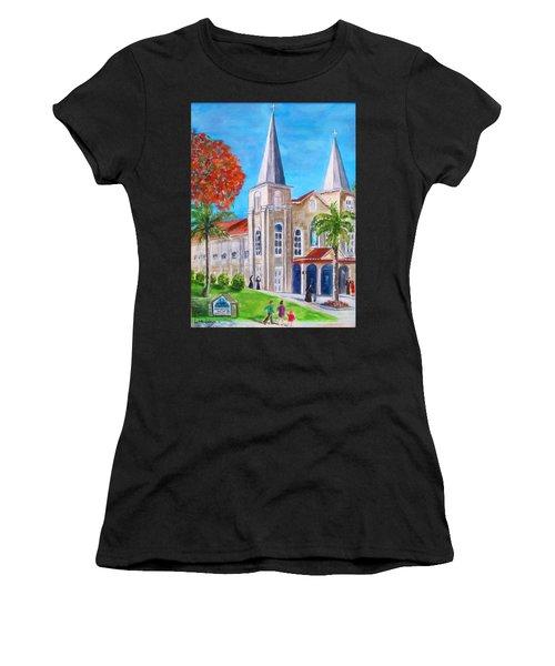 St. Mary's Catholic Church Key West Women's T-Shirt (Athletic Fit)