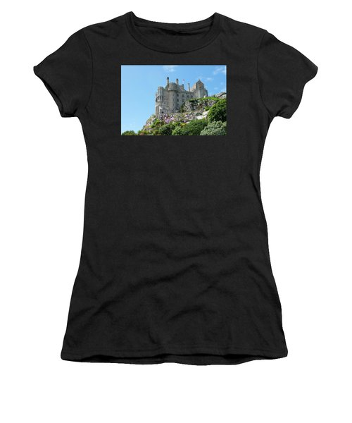 St Michael's Mount Castle Women's T-Shirt