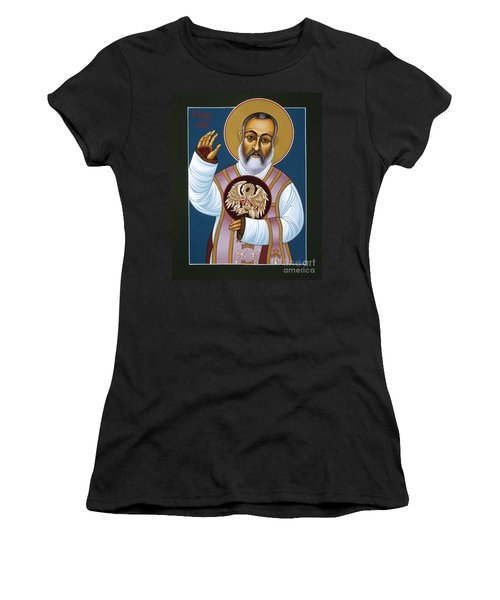 St Padre Pio Mother Pelican 047 Women's T-Shirt