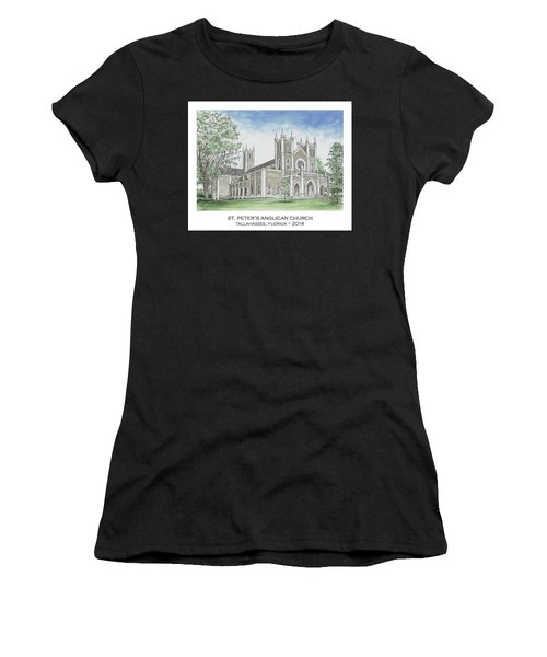 St. Peter's Anglican Church Women's T-Shirt (Athletic Fit)