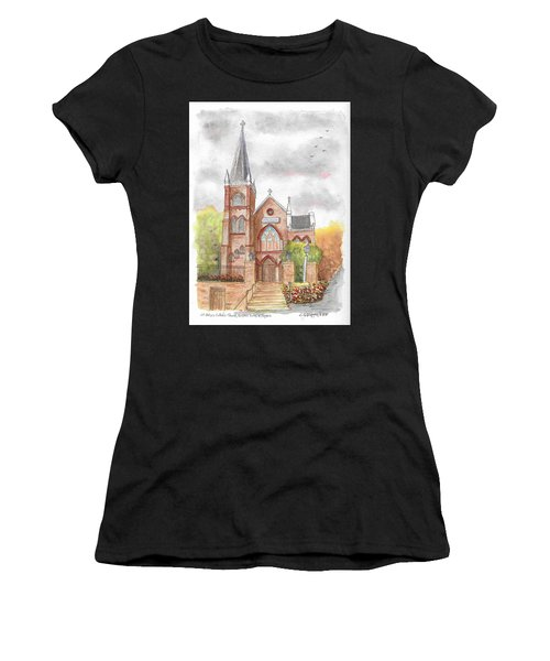 St. Peter's Catholic Church, Harpers Ferry, West Virginia Women's T-Shirt