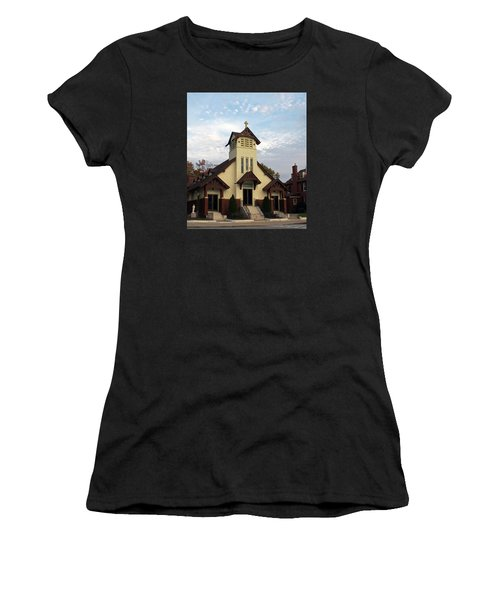 St. Rita's Church Women's T-Shirt (Athletic Fit)