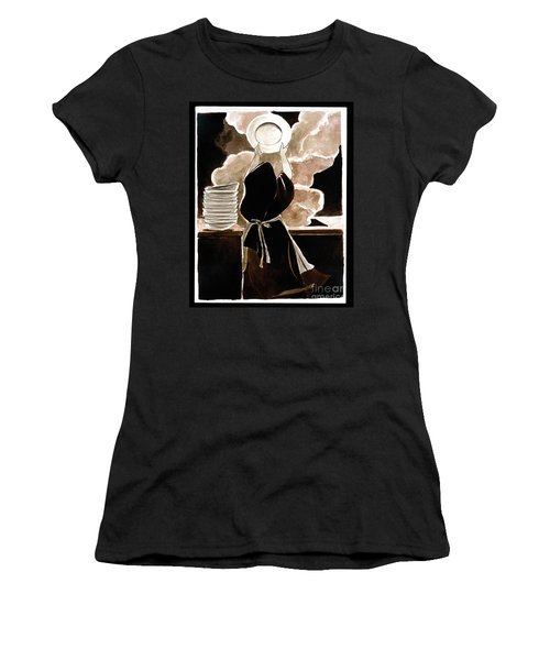 St. Therese Doing The Dishes - Mmdtd Women's T-Shirt