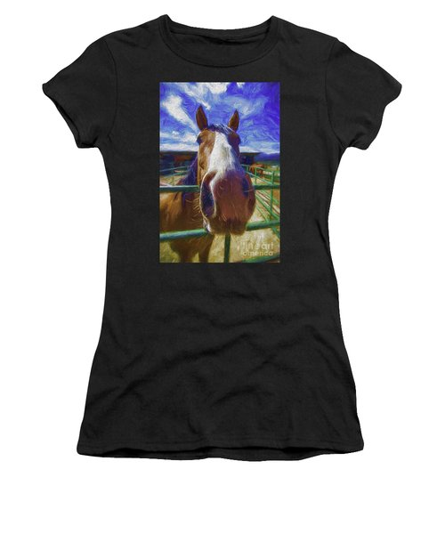 Stable Blues  Women's T-Shirt
