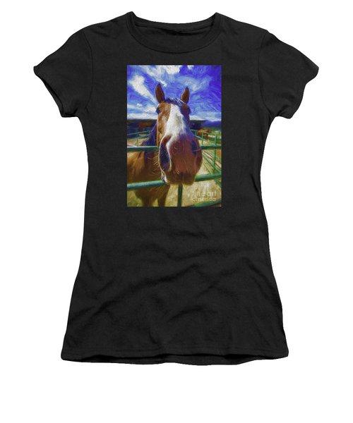 Stable Blues  Women's T-Shirt
