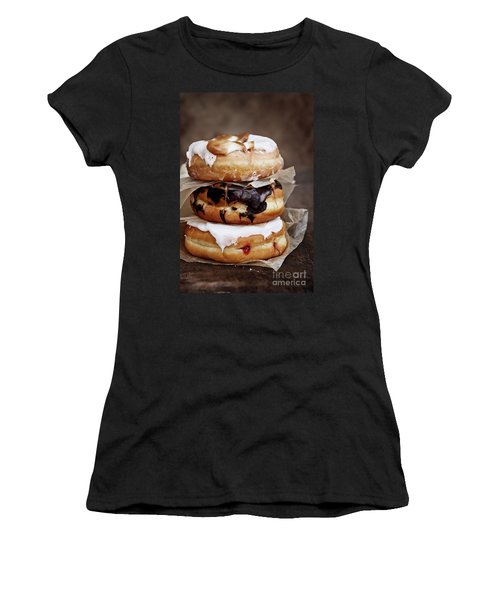 Stacked Donuts Women's T-Shirt