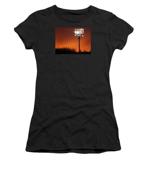 Stadium Lights Women's T-Shirt (Athletic Fit)