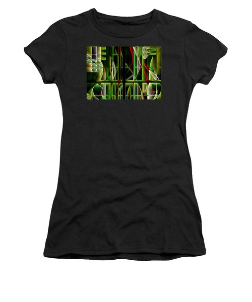 Stained Glass 2 Women's T-Shirt