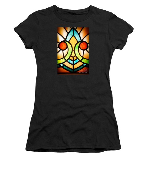 Stained Glass Detail Women's T-Shirt (Athletic Fit)