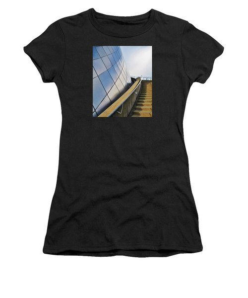 Staircase To Sky Women's T-Shirt (Athletic Fit)