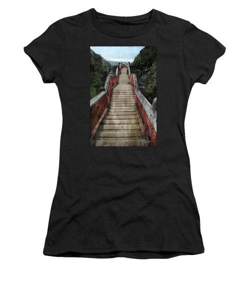 Stairs To Bliss Women's T-Shirt
