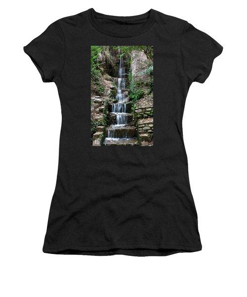 Stairway Waterfall Women's T-Shirt