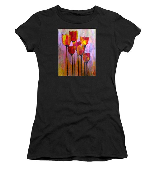 Stand Up And Shine Women's T-Shirt (Athletic Fit)