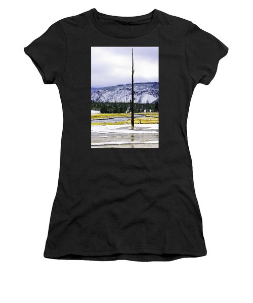 Standing Alone Women's T-Shirt (Athletic Fit)