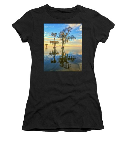 Standing On The Edge Women's T-Shirt