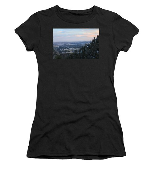 Women's T-Shirt (Junior Cut) featuring the photograph Stanley Canyon View by Christin Brodie
