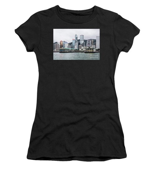 Star Ferry Building Terminal In The Central Business District Of Women's T-Shirt