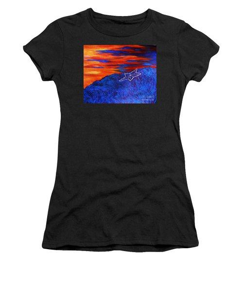 Star On The Mountain Women's T-Shirt