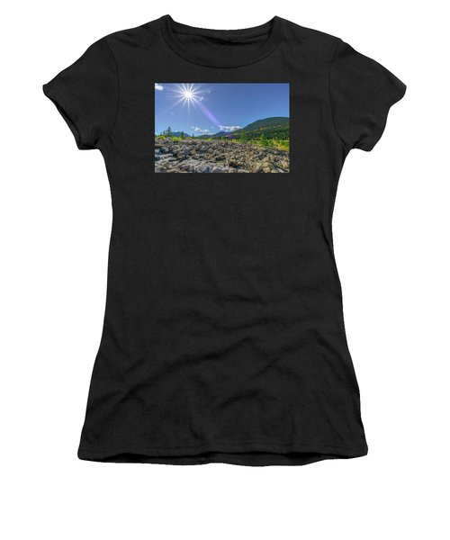 Star Over Creek Bed Rocky Mountain National Park Colorado Women's T-Shirt