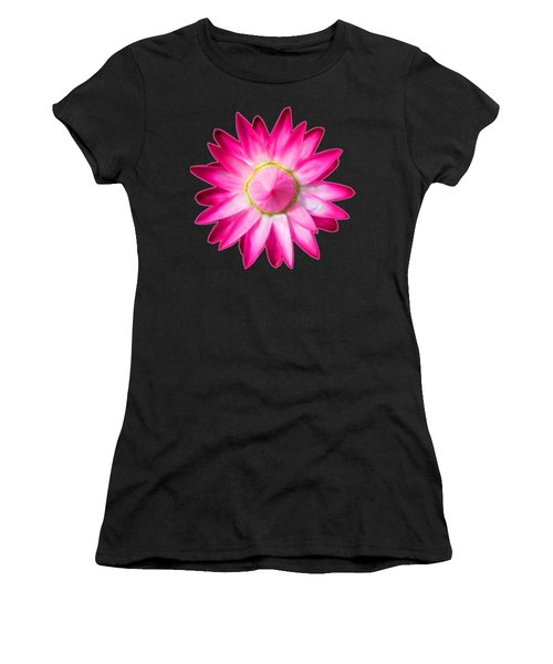 Starflower Opening  Mandala Women's T-Shirt (Athletic Fit)
