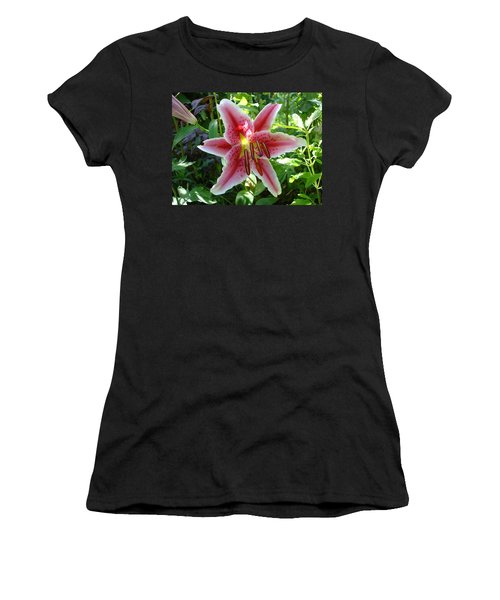 Stargazer Lily Women's T-Shirt (Athletic Fit)
