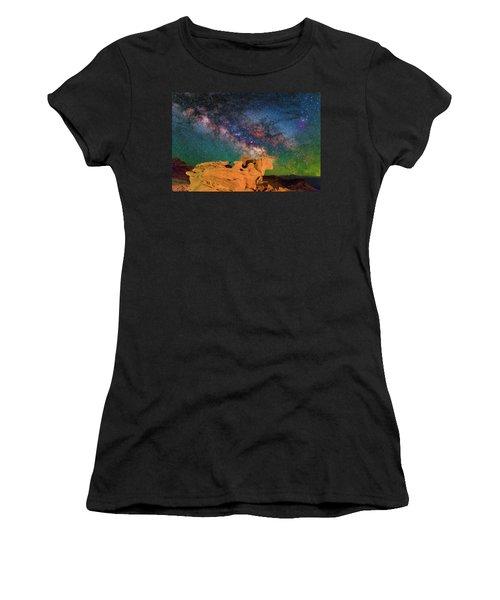Stargazing Bull Women's T-Shirt