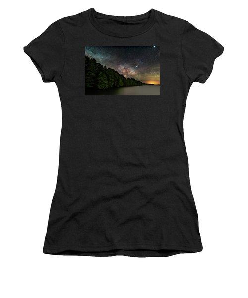 Starlight Swimming Women's T-Shirt