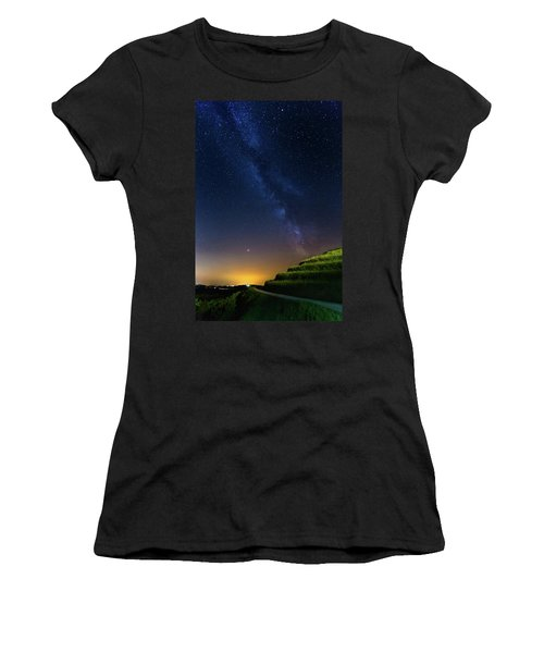 Starry Sky Above Me Women's T-Shirt