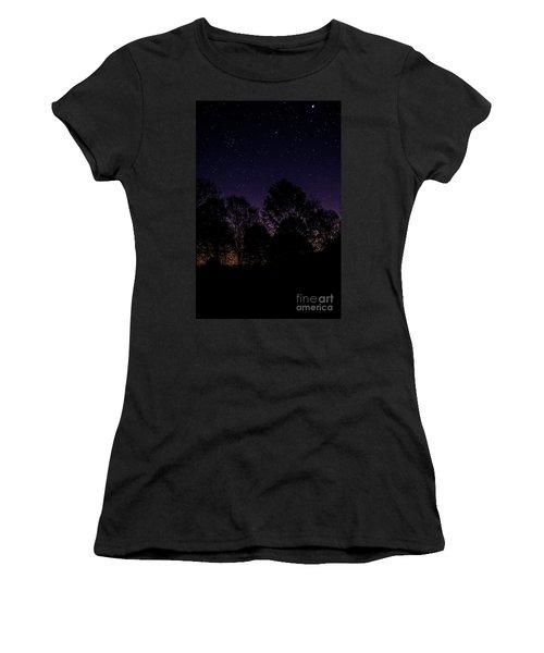 Stars Women's T-Shirt (Athletic Fit)