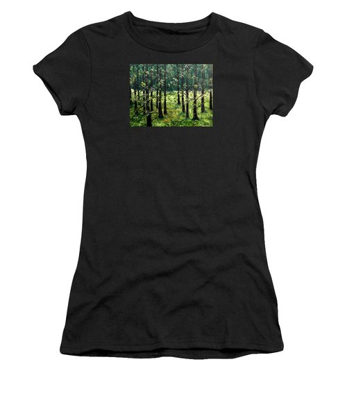 Starting The Game Women's T-Shirt (Athletic Fit)