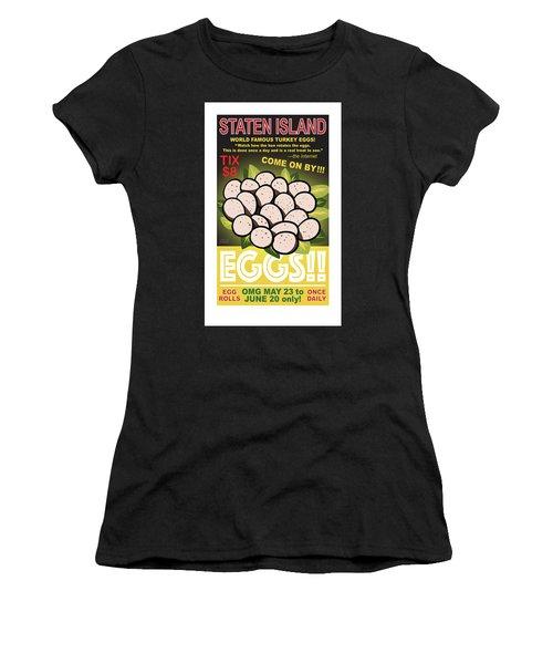 Staten Islands Eggs Women's T-Shirt
