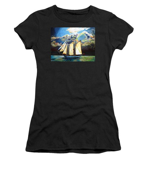 Steady As She Goes Women's T-Shirt (Athletic Fit)