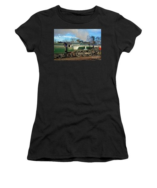 Steam Locomotive Elegance Women's T-Shirt