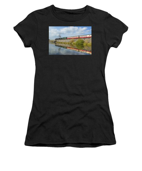 Steam Train Reflections Women's T-Shirt