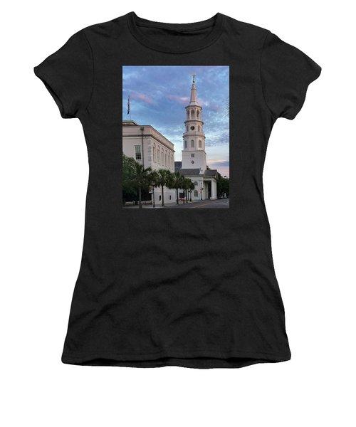 Steeple At Dusk Women's T-Shirt